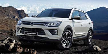 New SsangYong Korando from £17,995